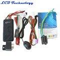 ACC ON SOS Alarme da cerca Geo-GT06 GSM GPRS GPS tracker para Motor do veículo do carro com Monitor e auto faixa contínua frete grátis
