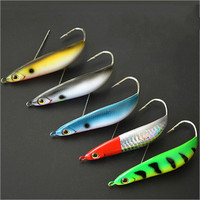 5pcs Lot Fishing Hard Bait Artificial Lures Spinner Pesca Fishing Wobblers Carp Fishing Tackles Bass VIB