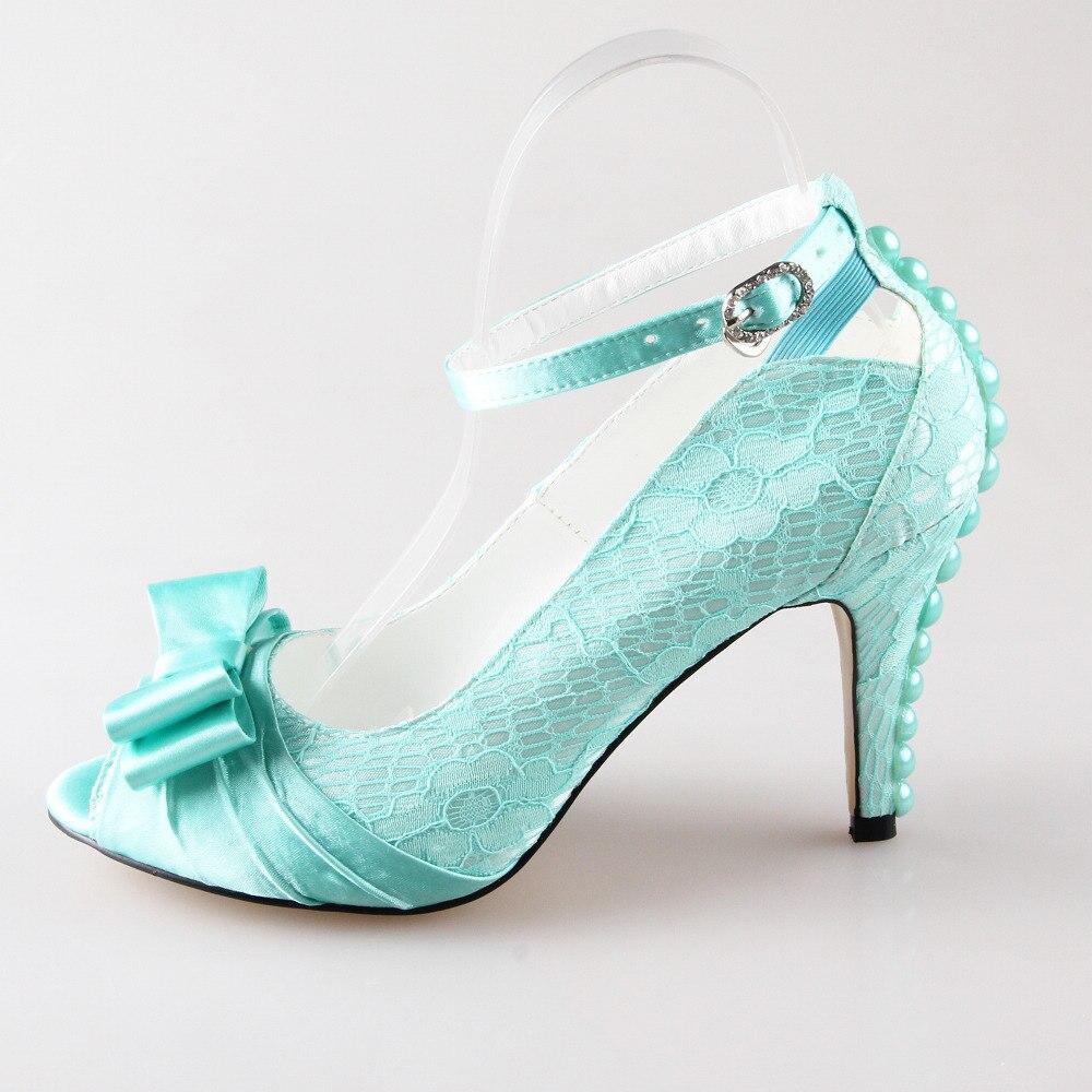 Lacey Light Blue Shoes