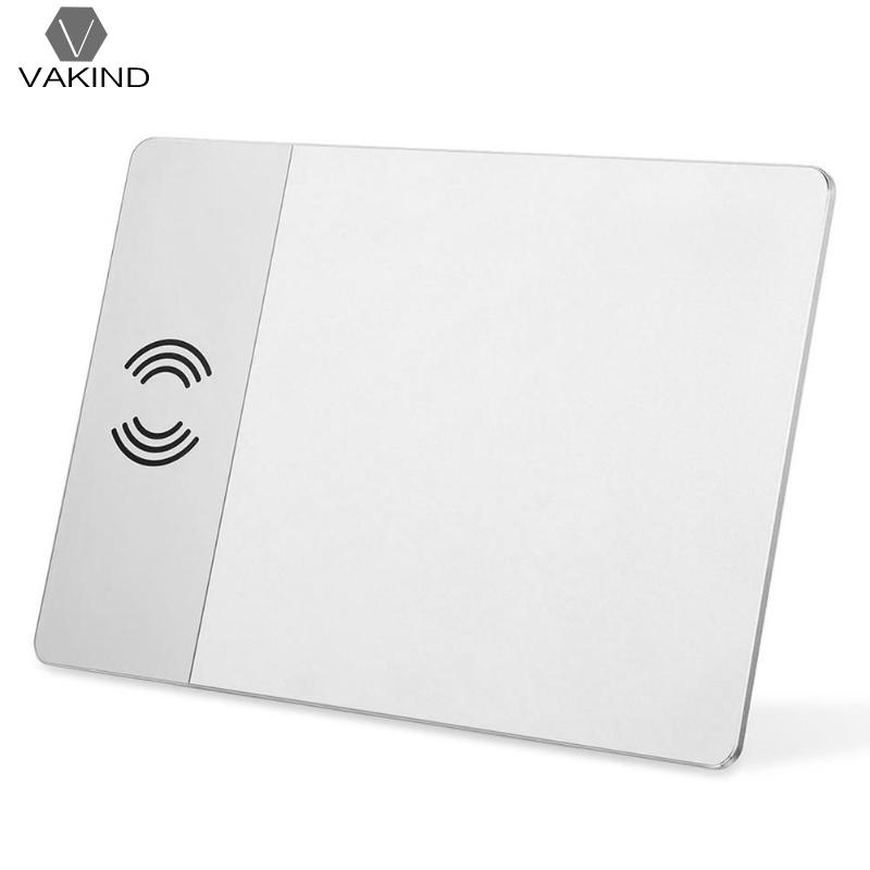 VAKIND P91 Mobile Phone Qi Wireless Charger 5V 2.0A Fast Charging Mouse Pad Mat for Samsung S9 S8 Plus S7 for iPhone X for vw teramont 2017 2018 car mount qi wireless charger fast wireless charging accessories for iphone x 8 plus for samsung s7