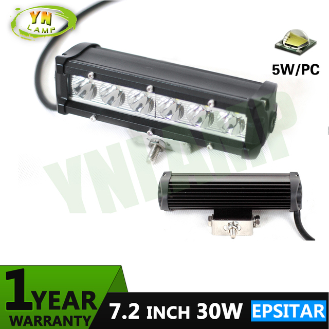 Ynroad 12pcs 72inch 30w epistar single row led light bar driving ynroad 12pcs 72inch 30w epistar single row led light bar driving offroad light spot aloadofball Image collections