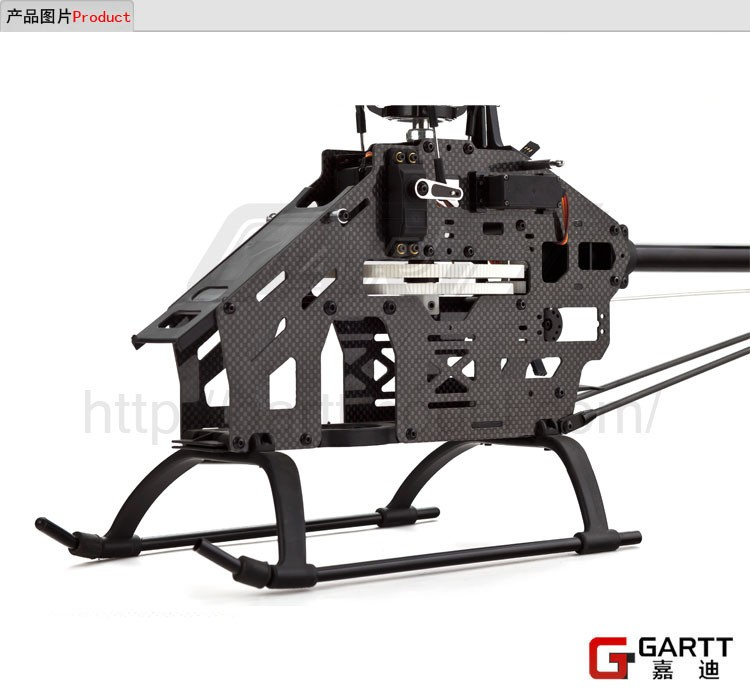 Ormino Gartt 500 DFC TT RC Helicopter/scale model/drone/air plane (Torque Tube) Version Super Combo