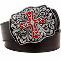 Мужская мода пояса Ретро крест тотем punk rock стиль металла кресты pattern Арабески пояса cool Хип-Хоп Одеваются пояс женщины