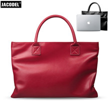 Jacodel frauen Laptop Aktentasche Tasche für Macbook Air 14 Carcasa Macbook Frauen Notebook Tasche Xiaomi air 13,3 Thinkpad Laptop fall