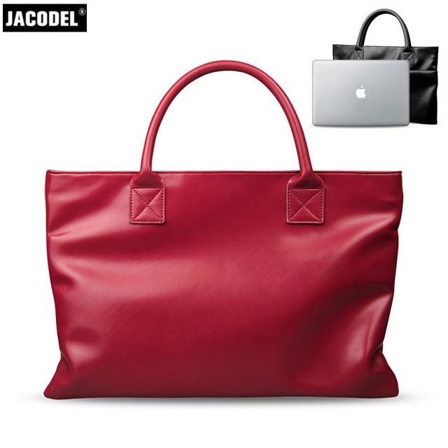 Jacodel Women s Laptop Briefcase Bag for Macbook Air 14 Carcasa Macbook Women  Notebook Bag Xiaomi air 13.3 Thinkpad Laptop Case 24b12cfe9