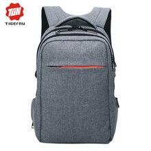 2017 tigernu mochila marca impermeable masculino hombres mochila mochila bolso de escuela del estudiante mochila bolso de las mujeres bolsa de ordenador portátil