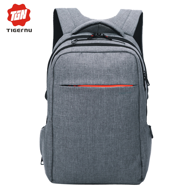 2017 marca tigernu mochila masculino mochila mochila escolar estudante mochila saco do computador das mulheres dos homens à prova d' água bolsa para laptop