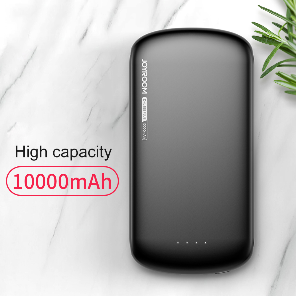 10000mAh 5V 2.1A Fast Charging Polymer Battery Phone Power Bank Portable External Phone Powerbank For iPhone 8 X Mobile Phones