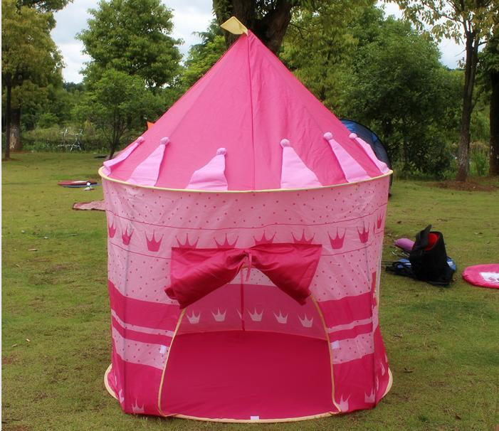 Cartoon Dream House Baby Tent Children kids Toys Play House Folding Tent Girl Princess Pink Castle Playing Game House-in Toy Tents from Toys u0026 Hobbies on ... & Cartoon Dream House Baby Tent Children kids Toys Play House ...