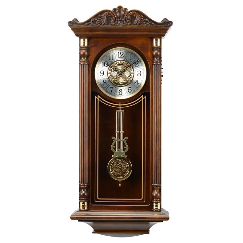 new western horloge murale antique carillon musique. Black Bedroom Furniture Sets. Home Design Ideas