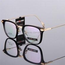 Gafas Retro marco ultra ligero TR90 gafas 9163 hombres y mujeres de alta calidad marco completo miopía gafas ópticas