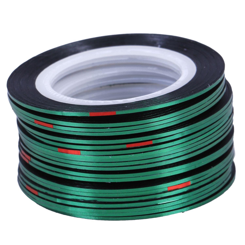 Nail Art Tape Strips: Aliexpress.com : Buy 20pcs Nail Stickers Thread Strips