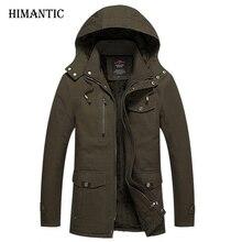 Winterjacke Männer Lässig Baumwolle Dicken Warmen Mantel herren Outwear Parka Plus größe 4XL Mäntel Windschutz Schnee Military Jacken