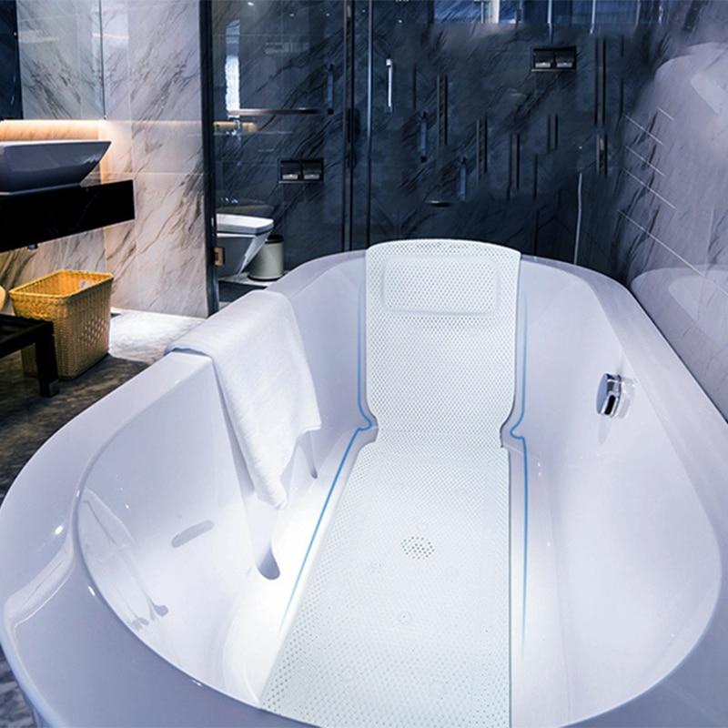 SAFEBET Non-slip BathTub Mat Suction Cup Bath Tub Pillow SPA Pillows Neck Cushion Hangable Bathroom Accessories Drop Shipping
