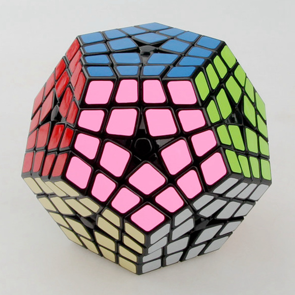 Shengshou Master Kilominx 4 Layer Magic Cube Speed ​​Puzzle Game - Teka-teki - Foto 4