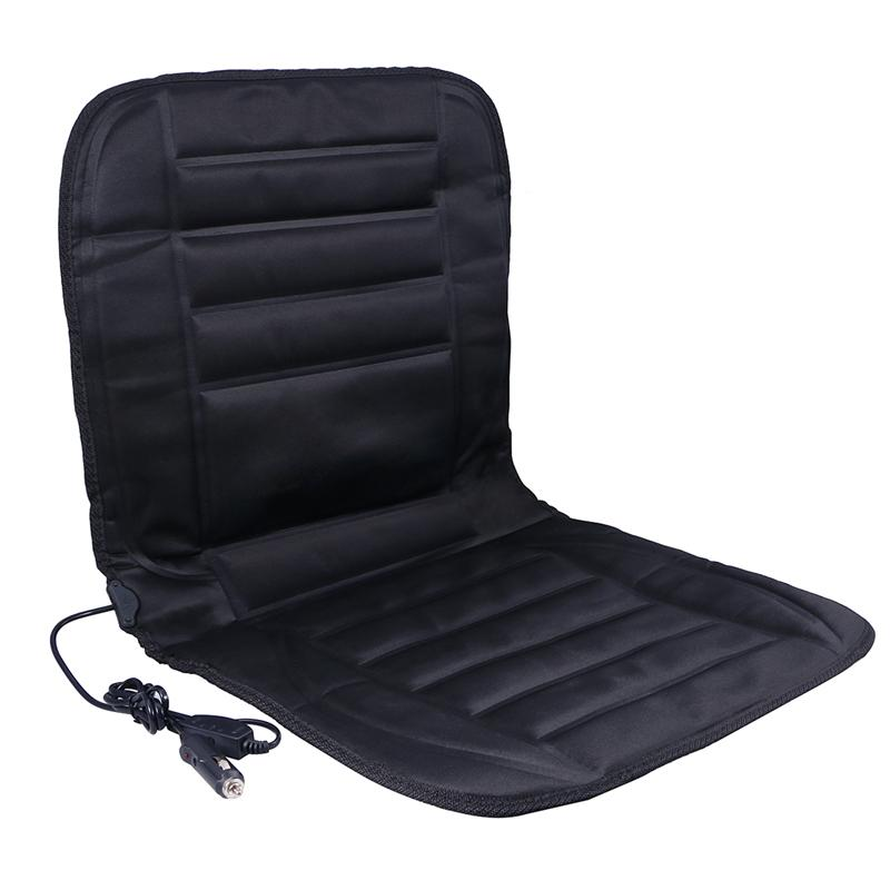 Safe Van Auto Seat Heated Pad Cushion Cover Car Warmer Automobiles Covers Interior Accessories Black