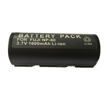 NP-80 FNP-80 lithium batteries pack FNP80 Digital Camera Battery NP80 For Fujifilm DC-4800 DC-4900 DC-6800 MX-6900