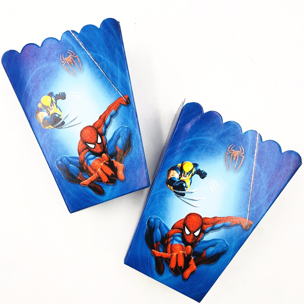 1 Sachet De 100 Stickers Spiderman