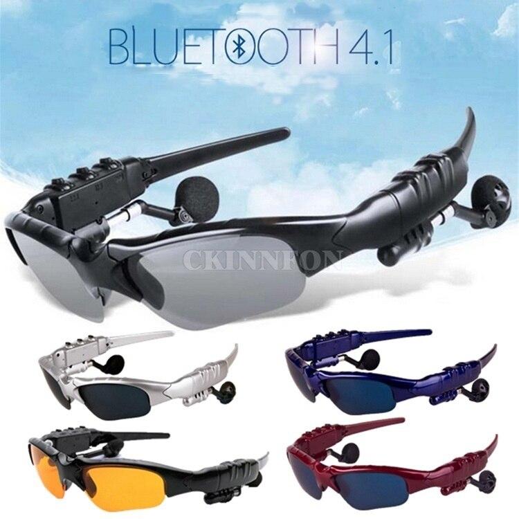 Dhl 50 StÜcke Sport Bluetooth Kopfhörer Kopfhörer Sonnenbrille Headset Handys Freisprecheinrichtung Stereo Kopfhörer
