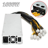 Mosunx Bitcoin Mining Machine Platinum 1600w 92 Mining Power Supply For Bitcoin Miner S7 S9 12