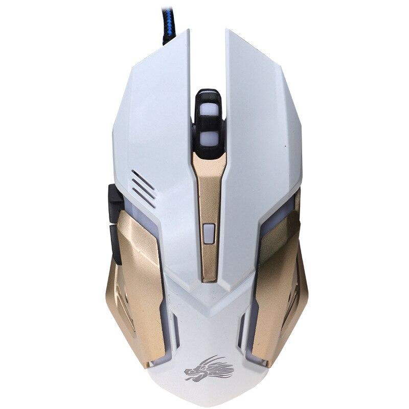 Профессиональный 3200 Точек на дюйм beitas x10 USB Gaming Мышь проводной Игры Мыши компьютерные с 3 цвета LED Подсветка эргономичный Дизайн для Pro Gamer ...