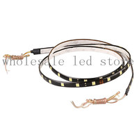 1X Dc 12v Led Flexible Strip 5050 48smd Lamp Led Strip Light Decoration Automobile Motorcycle Cars