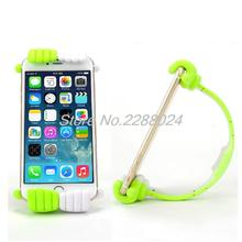 2016 support telephone voiture Thumbs Modeling Phone Stand Bracket Holder Mount for iPhone6 Samsung Tablets car