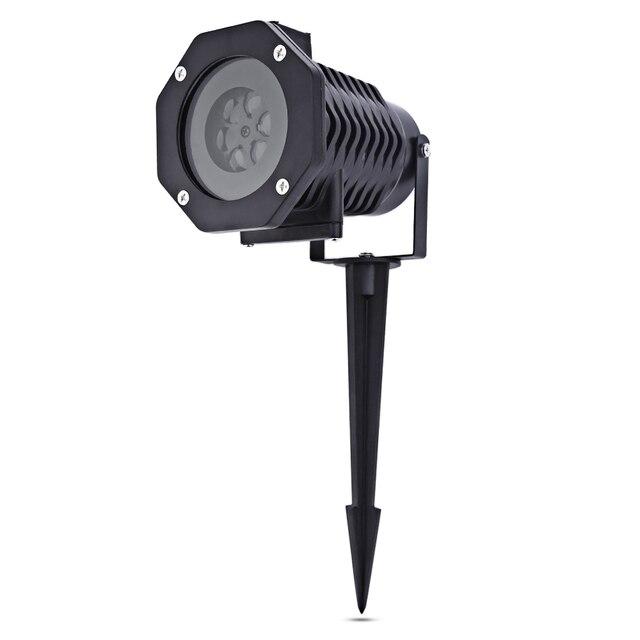 10 muster laser stern leuchtet projektor duschen schneeflocke krbis herz laser licht ip65 auen garten weihnachten - Licht Dusche Ip