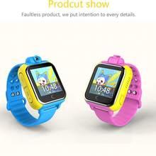 Neue Kinder Smart watch Armbanduhr Q730 3G GPRS GPS Locator Tracker Anti-verlorene Smartwatch Baby Uhr Mit Kamera für IOS Android