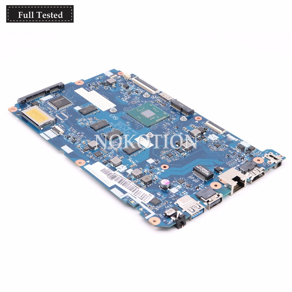 NOKOTION 5B20L46211 Laptop Motherboard FOR LENOVO IDEAPAD 110-15IBR CG520 NM-A801 SR2KN N3060 4G System Board  Work GoodNOKOTION 5B20L46211 Laptop Motherboard FOR LENOVO IDEAPAD 110-15IBR CG520 NM-A801 SR2KN N3060 4G System Board  Work Good