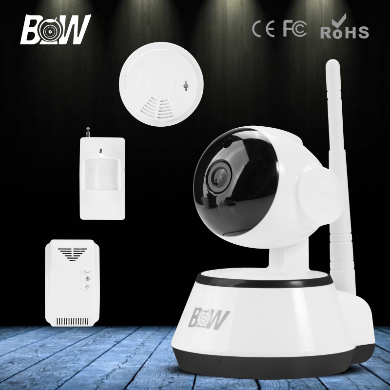 BW P2P 720P IP Camera Wifi Wireless Mini CCTV Baby Monitor Security P/T Micro TF Card Surveillance Cam for IOS & Android APP bw wireless wifi door