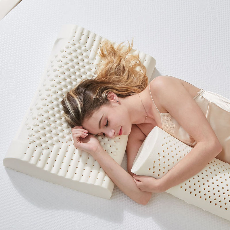 Natural Latex Pillows Travel Massage Neck Pillow Baby Stereotyped Pillow Cervical Orthopedic Health Care Memory Foam Pillow|latex pillow|natural latex pillow|memory foam pillow - AliExpress