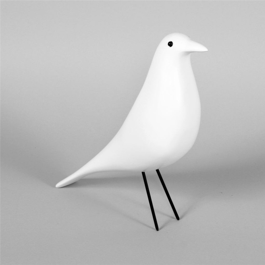 Home Decor/Wooden/house bird/Solidwood/Black&White/Free Shipping
