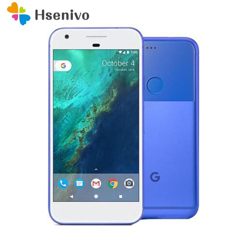 Original Unlocked Google Pixel XL 4GB RAM 32GB 128GB ROM 4G LTE Android Mobile phone 5.5'' Snapdragon Quad Core Fingerprint