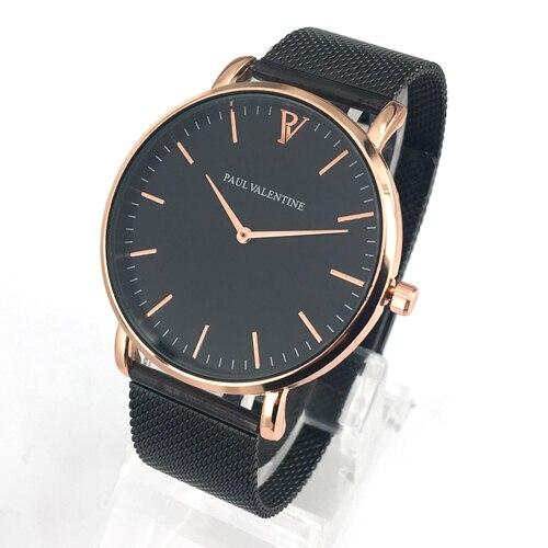 Relojes de pulsera de lujo reloj de pulsera reloj femenino para mujer Milanese Steel Lady Rose Gold Quartz señoras reloj nuevo
