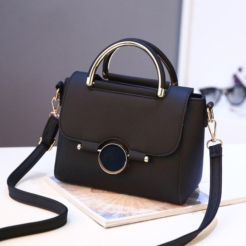 New Design women handbag Black mark fashion messenger bags shoulder crossbody bag best gift for girls