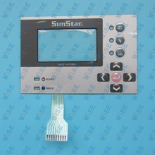 operation panel membrane for sunstar BH3000