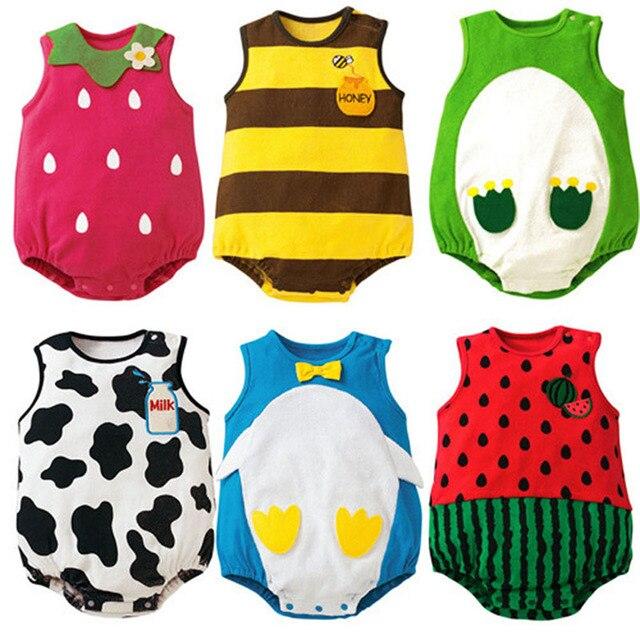 Aliexpress.com: Comprar Nuevo Bebé bebé traje Niñas Niños patrón de ...