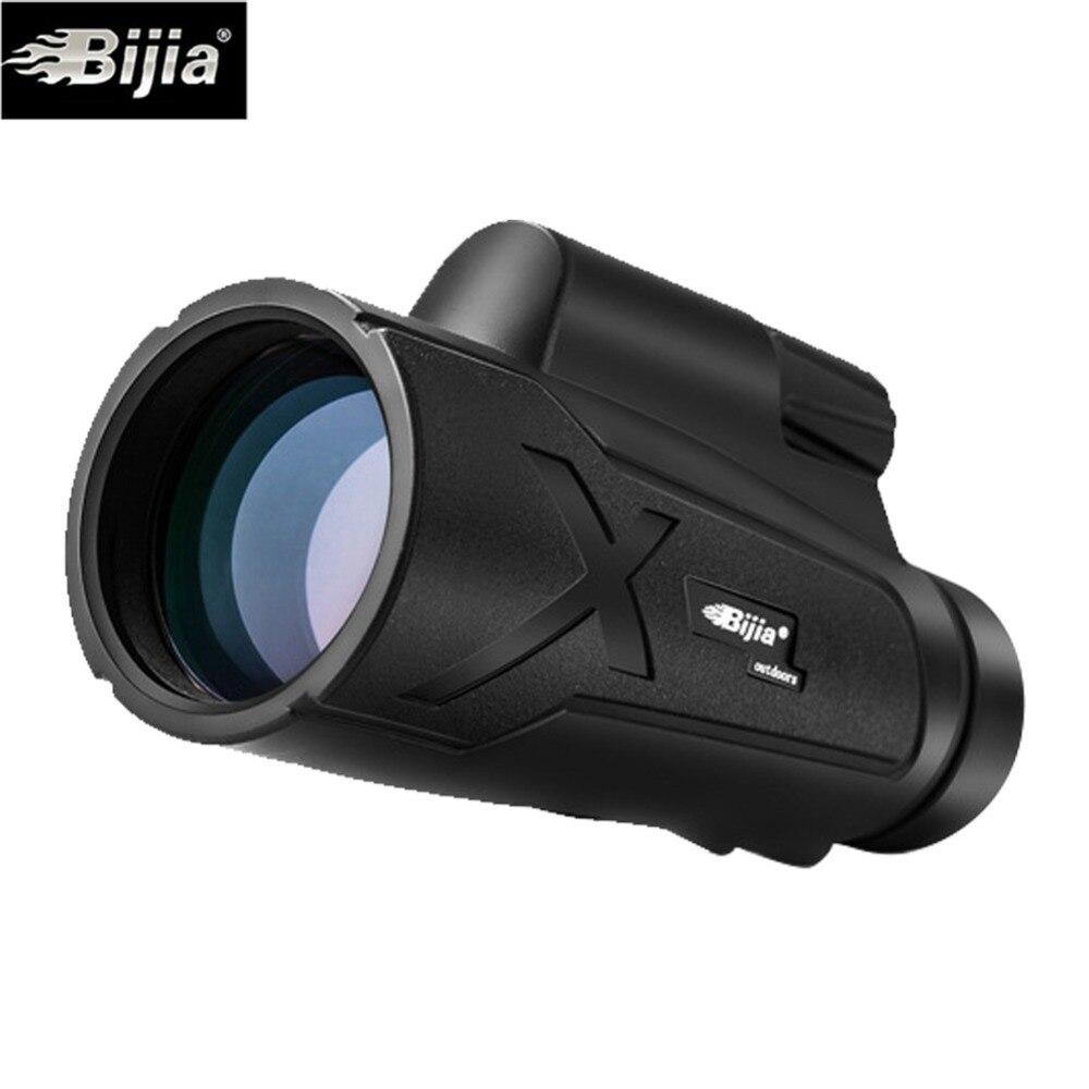 BIJIA 12X50 Zoom HD Monocular Telescope Mini Portable Focus Telescope Waterproof Outdoor Hunting Camping Spotting Scope