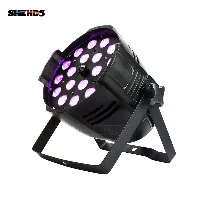 Good Quality 18x18W RGBWA+UV 6in1 Indoor LED Par Zoom Light Colorful Wash Zoom Light For DJ Disco Show SHEHDS Stage Lighting