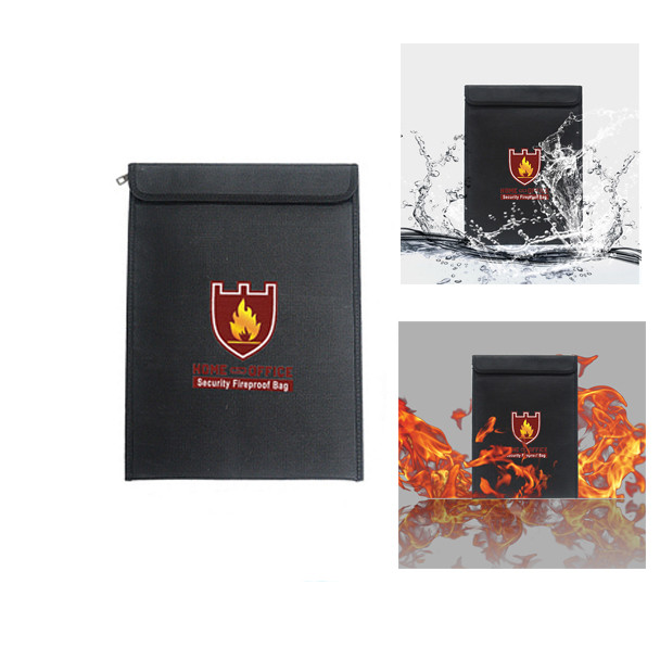 Fireproof Pc Case : Fireproof document fire resistant pouch