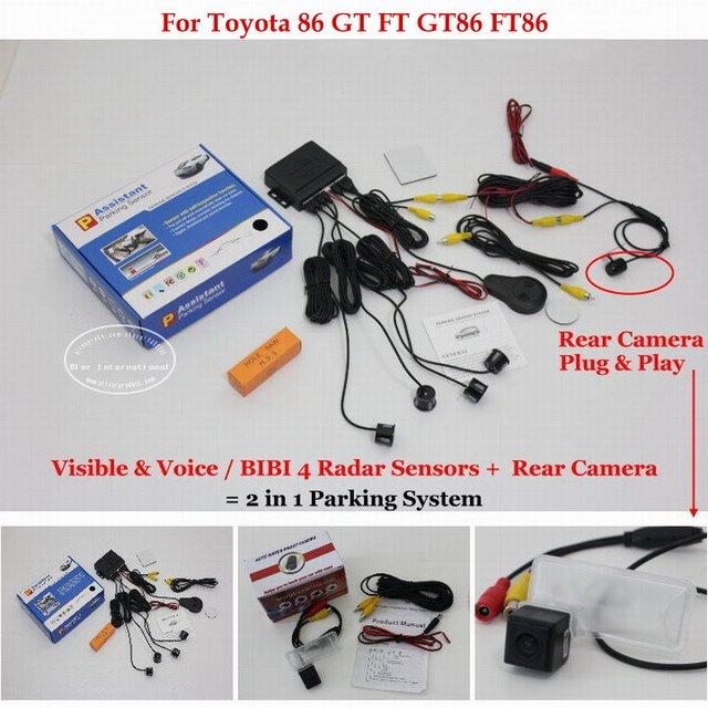 Liislee for toyota 86 gt ft gt86 ft86 car parking sensors for Mercedes benz installing parking sensors aftermarket