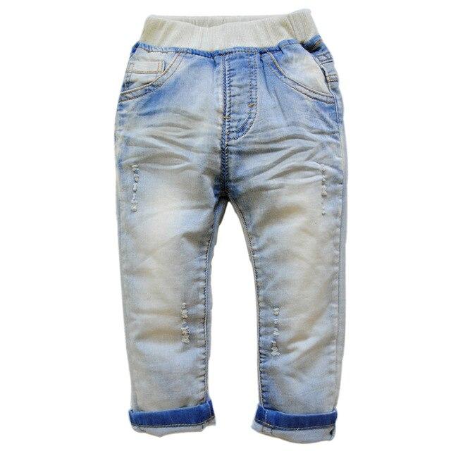 6246 мальчиков джинсы детские брюки мягкие джинсовые брюки девушки случайные весной или осенью мода новый 2016 детей одежда