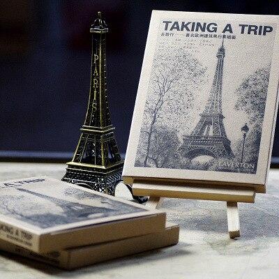 28 Sheets/Set Take A Trip To Europe Postcard /Greeting Card/wish Card/Fashion Gift