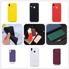 Candy Color Case For Huawei mate20 Y5 Prime 2018 P10 Lite Honor 9 lite P Smart Plus for Honor10 P20 Pro