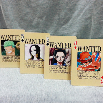 Baraja de Poker de recompensas One Piece Merchandising de One Piece