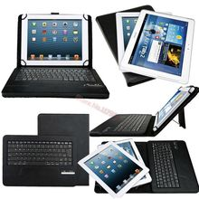 Universal Removable Wireless Bluetooth ABS Keyboard With Leather Case Stand For Microsoft Surface RT/PRO PRO 2