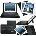 Универсальный Съемный Беспроводной Bluetooth ABS Клавиатура С Кожаный Чехол Подставка Для Microsoft Surface RT/PRO PRO 2