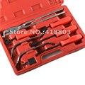 8 pcs Carro Auto Tambor De Freio Ajustando Kit Tool Set Colher Chave Ajustador