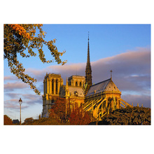 DIY Diamond Painting Notre Dame de Paris construction Mosaic Dimaond Embroidery